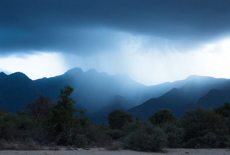 Kenya Conservation Journey Challenge Rain