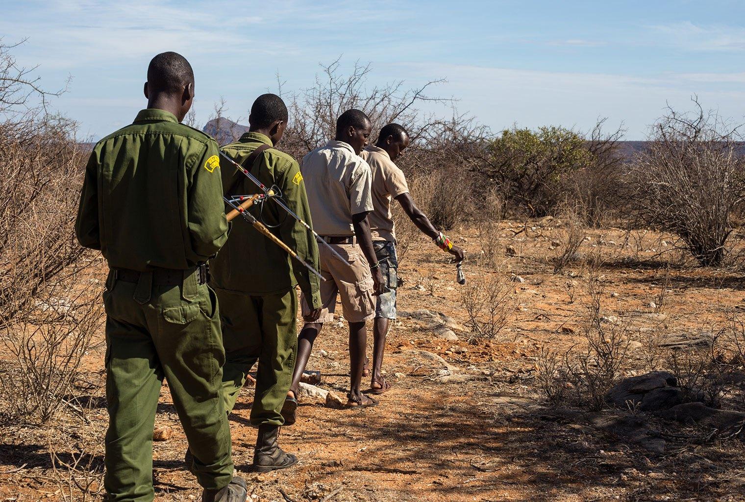 Rhino Tracking Kenya Conservation Journey 2017