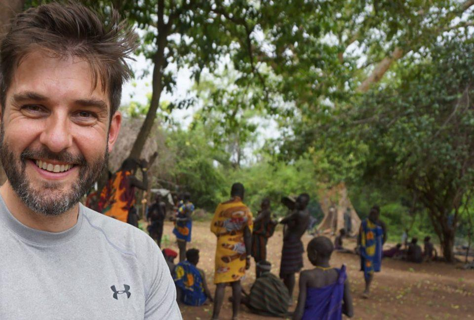 Paul Herbertson in Ethiopia's Omo Valley