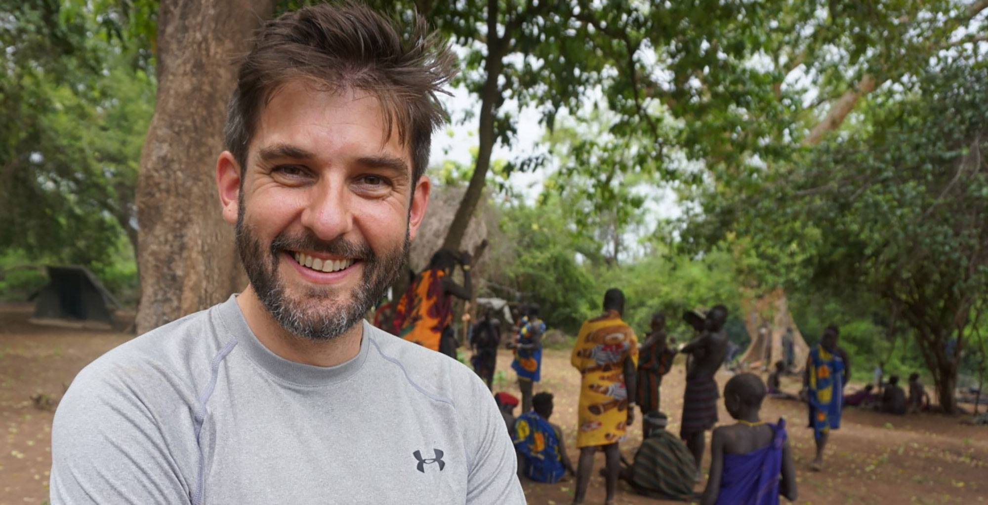 Paul Herbertson in Ethiopia's Omo Valley