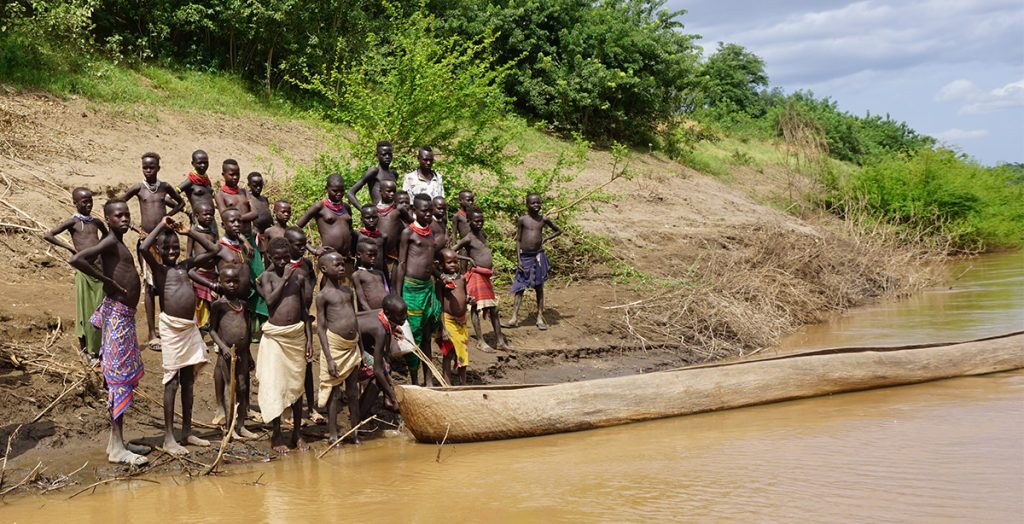 Banks of the Omo River