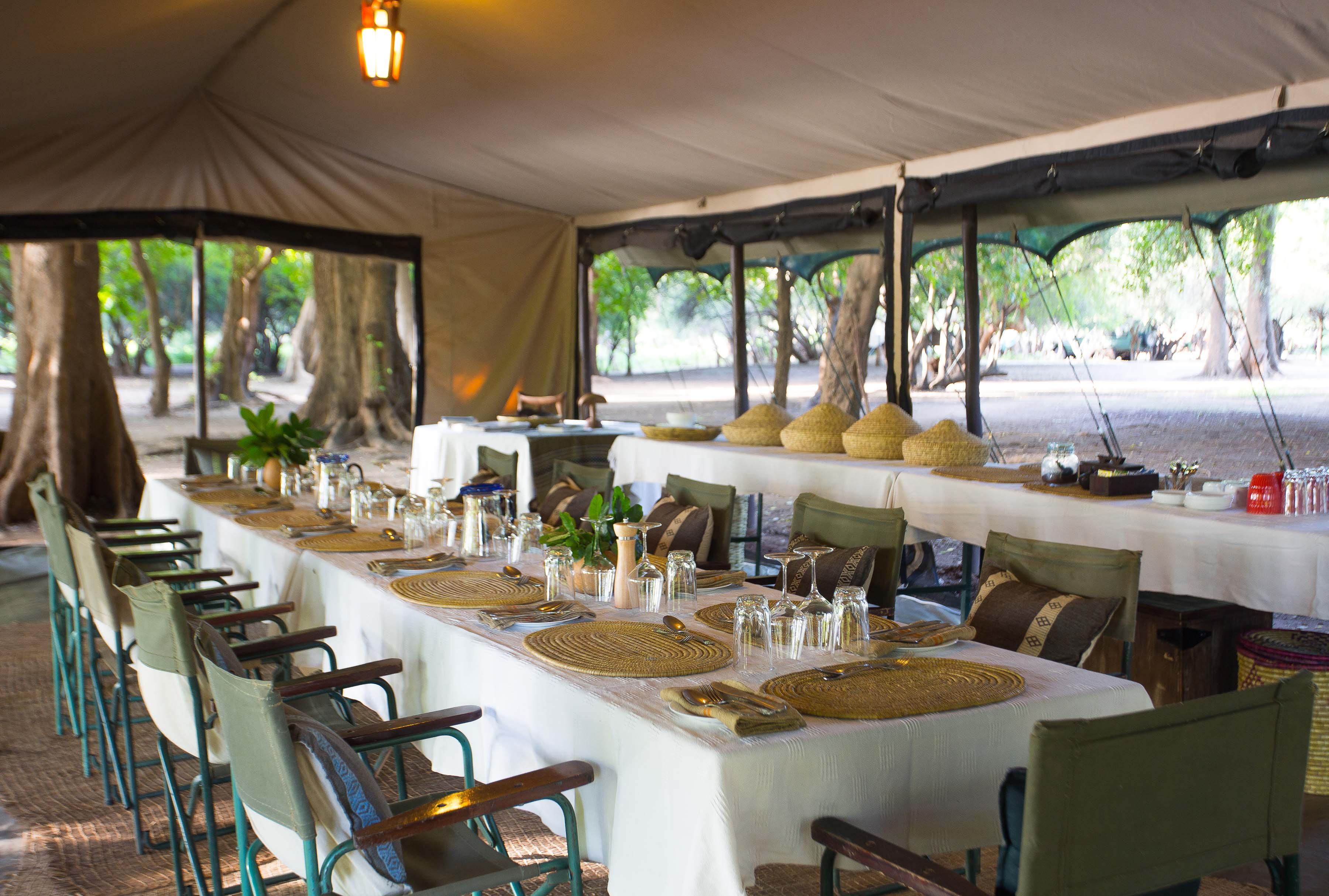 Lales Camp Dining Ethiopia