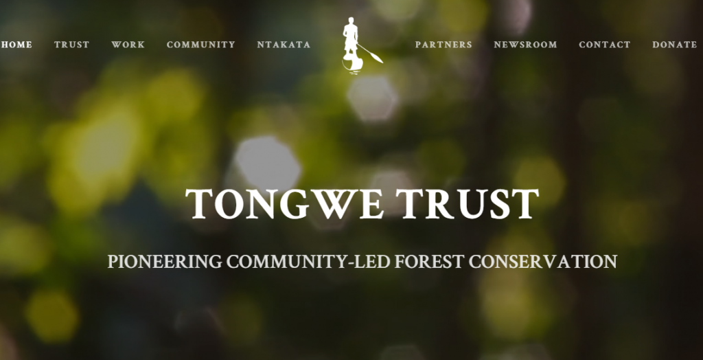 Tongwe Trust Website