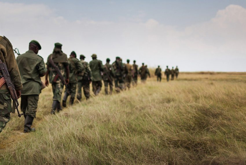 Virunga-Foundation-Rangers-Walking